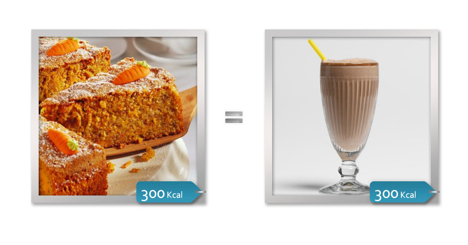 BOLO DE LARANJA = MILKSHAKE DE CHOCOLATE