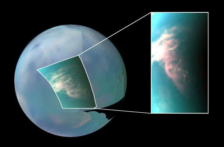 Nuvens em Titã