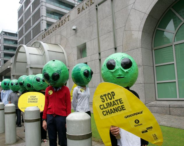 Protesto do Greenpeace
