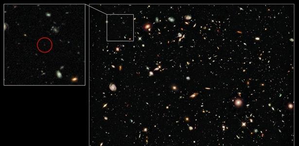 Astrônomos identificam galáxia mais distante já encontrada Astronomos-identificam-galaxia-mais-distante-ja-encontrada-1287599868054_615x300