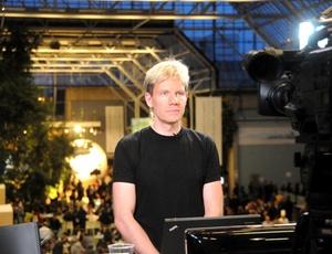 Bjorn Lomborg na COP-15, em 2009; o ambientalista defende que � mais barato se adaptar �s mudan�as clim�ticas do que cortar emiss�es