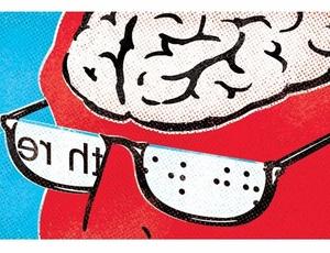 A parte do cérebro responsável pelo processamento visual de texto pode não precisar da visão