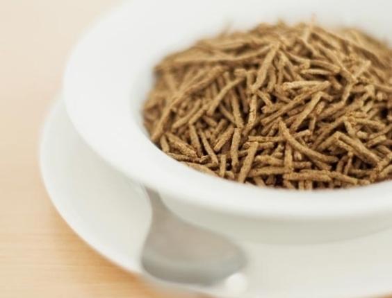Fibras, cereal com fibras