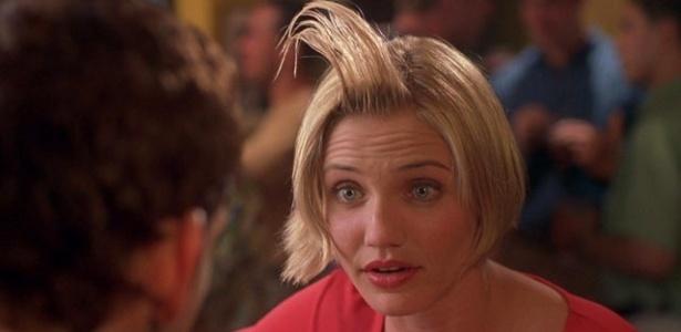 No filme Quem vai ficar com Mary, Cameron Diaz usa sêmen como gel de cabelo sem querer