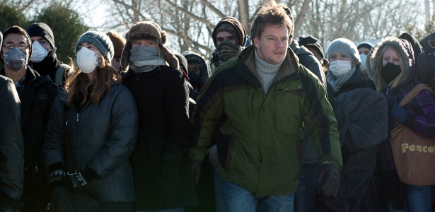Matt Damon em cena do filme Contágio, que entra em cartaz nesta sexta-feira (28)
