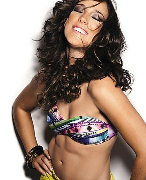 Adriana Birolli, capa da Boa Forma de fevereiro