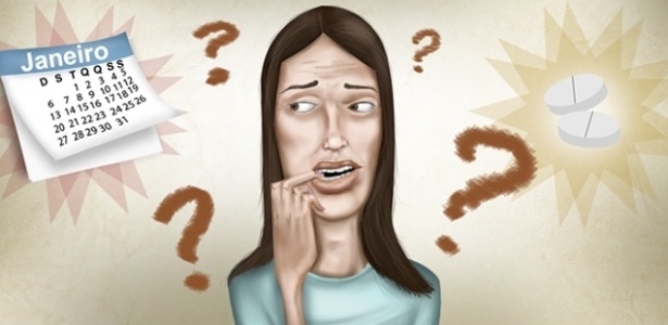 Algumas garotas ficam tão tensas com a possibilidade de engravidar que a menstruação atrasa