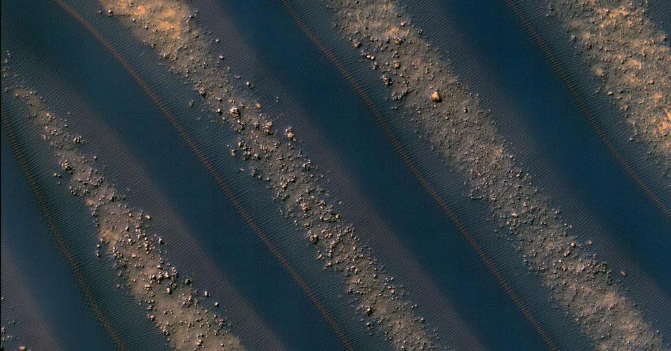Dunas em Marte