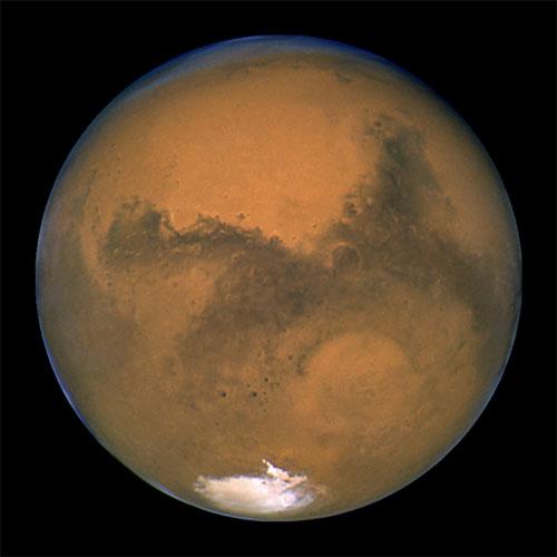 Marte mais próxima da da Terra