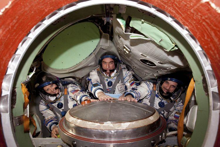 Treino de astronautas