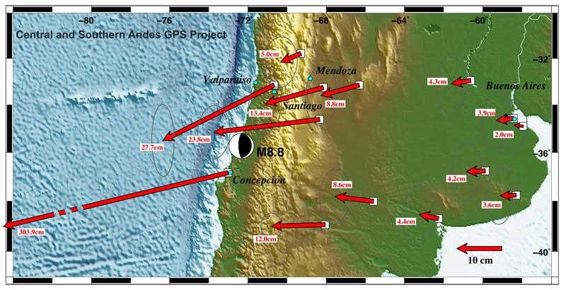 Efeitos do terremoto