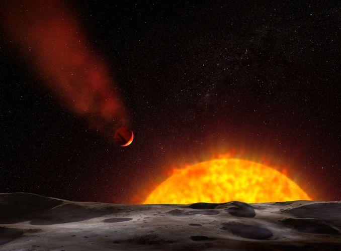 """""""Planeta cometa"""""""