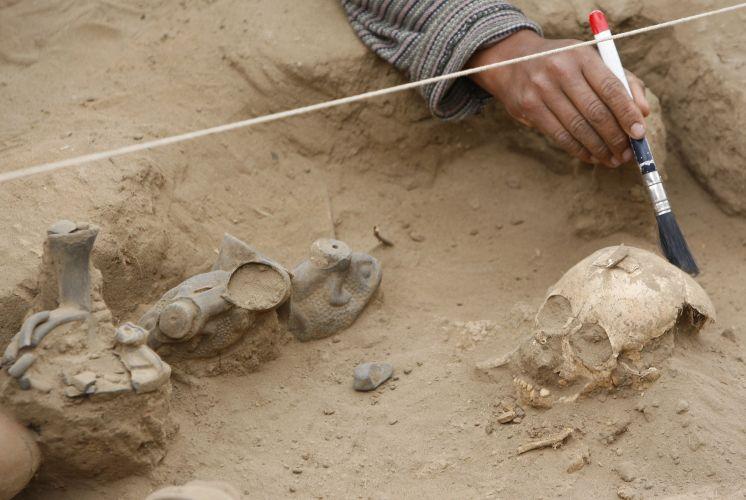 Antiga civilização do Peru