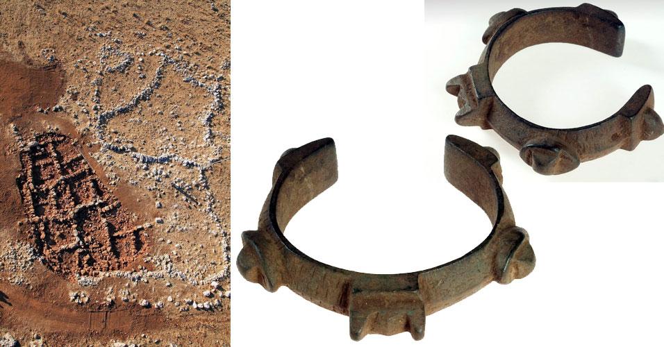 Local de escavações em Israel