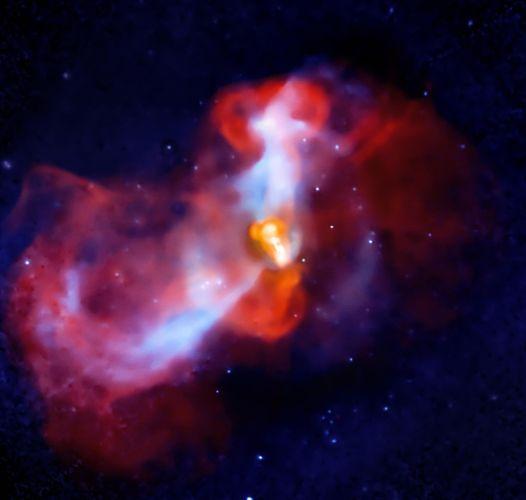 """""""Erupção"""" cósmica"""