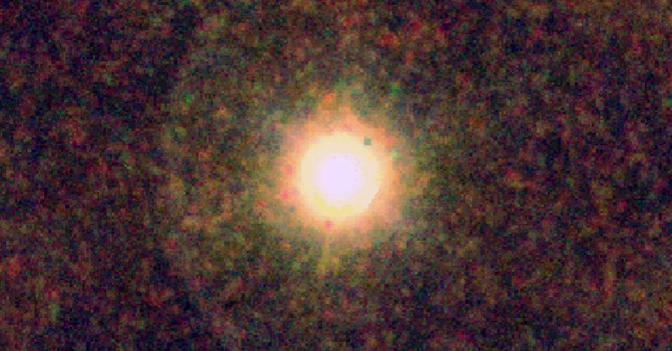 Vapor de água em estrela