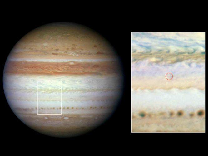 Impactos em Júpiter