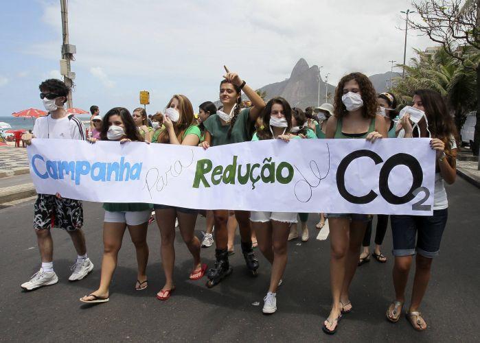 Campanha contra as mudanças climáticas