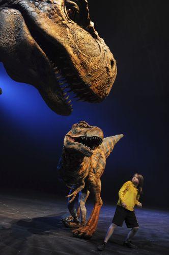 Espetáculo de Dinossauros na Austrália