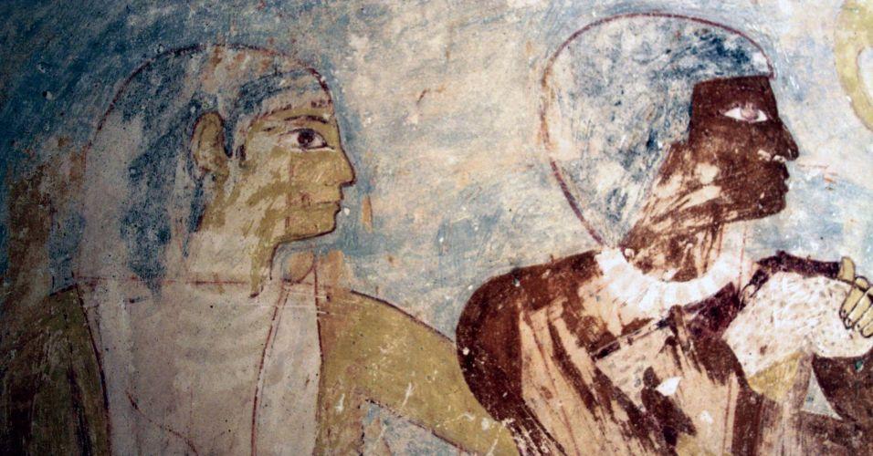 Tumba egípcia descoberta