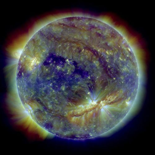 Supermancha solar