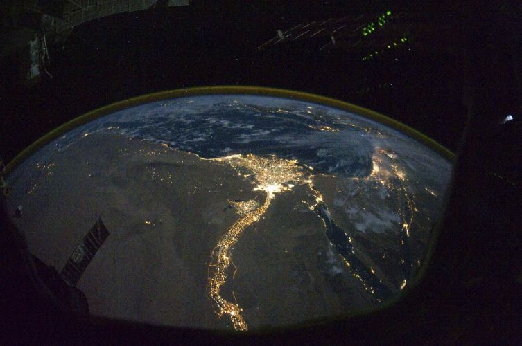 Fotografia da ISS