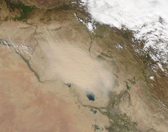 Areia no Iraque