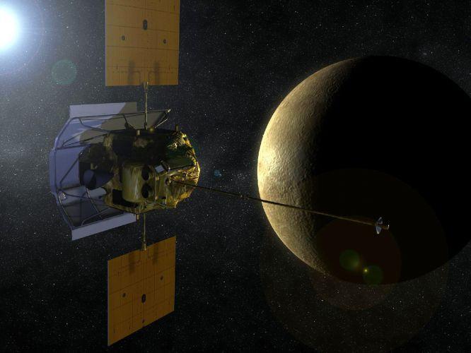 Sonda entra na órbita de Mercúrio