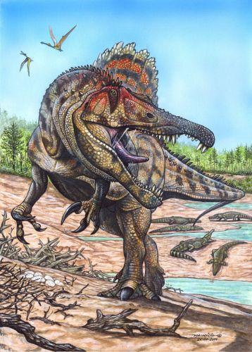 Maior dino carnívoro do Brasil