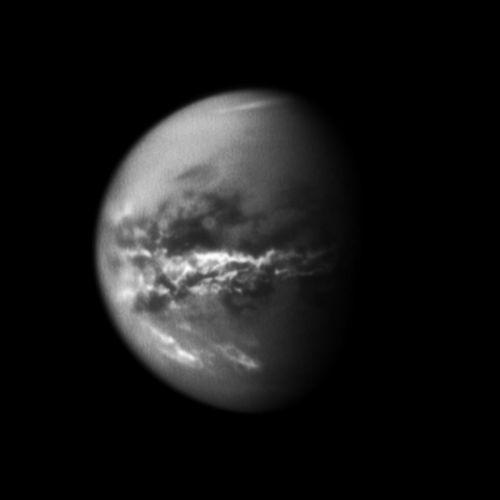 Chuva de metano em Titan