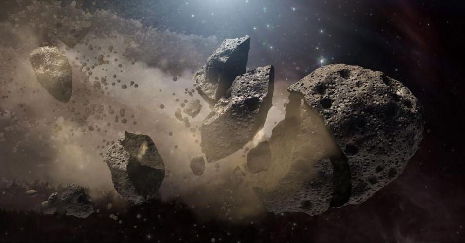 Asteroide que extinguiu os dinos