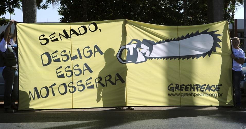 Greenpeace contra Código Florestal