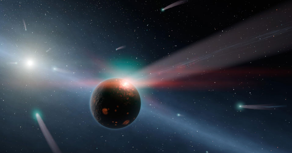 Tempestade de cometas