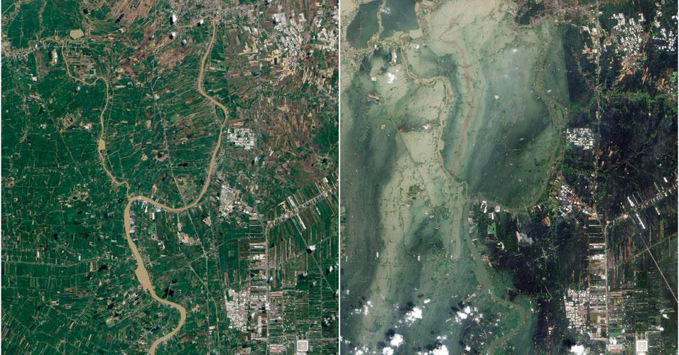 Inundações na Tailândia