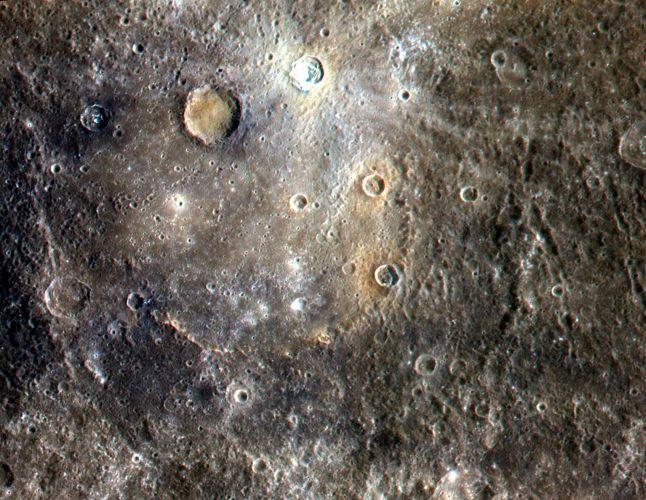 Cratera em Mercúrio