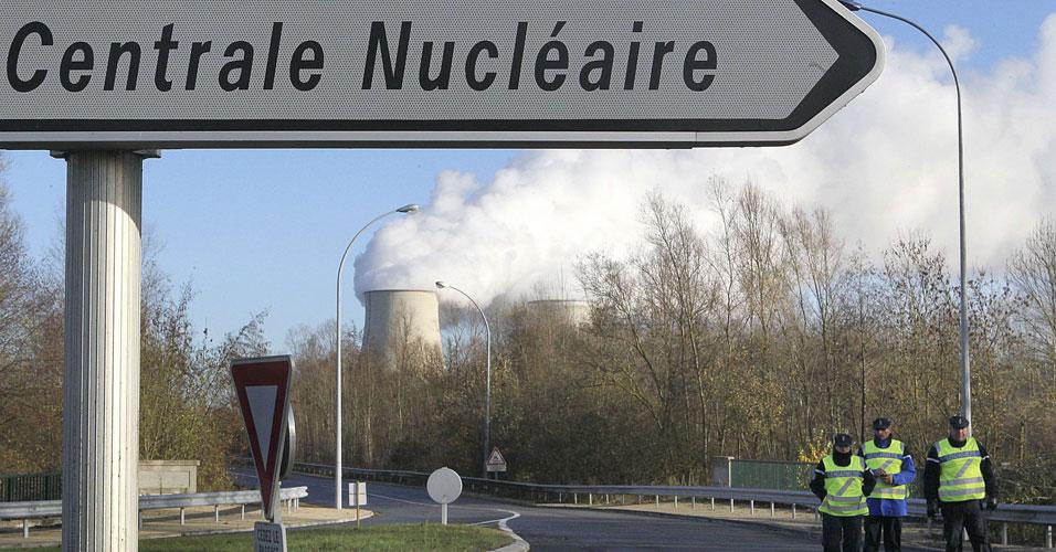 Greenpeace entram em usina nuclear