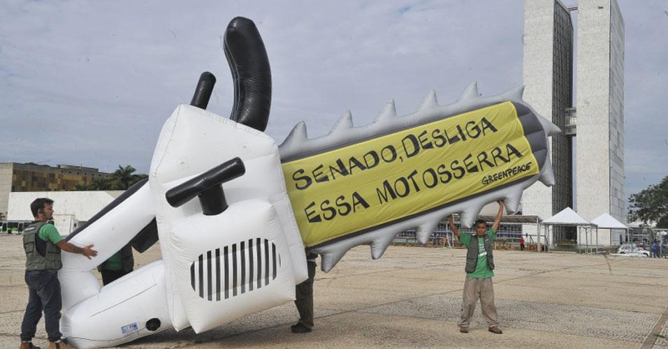 Manifestação Greenpeace