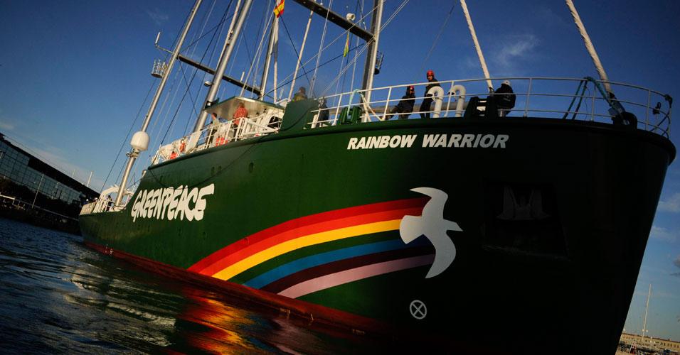 Novo navio do Greenpeace