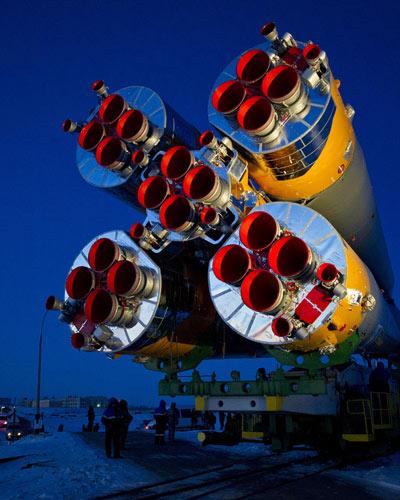 Soyuz será lançada nesta quarta-feira