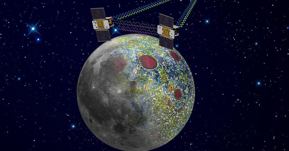 Sonda mapeará gravidade da Lua