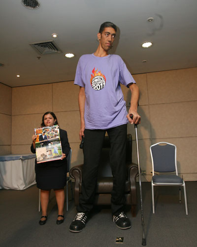 Homem mais alto do mundo