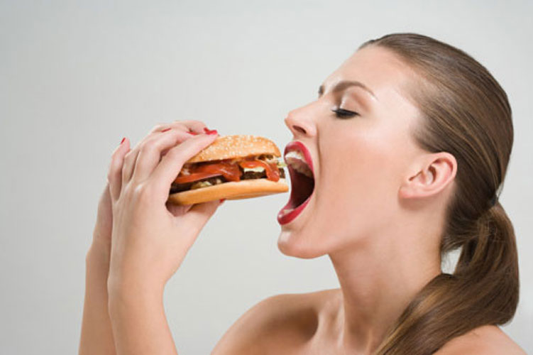 Não fazer refeições com muita fome