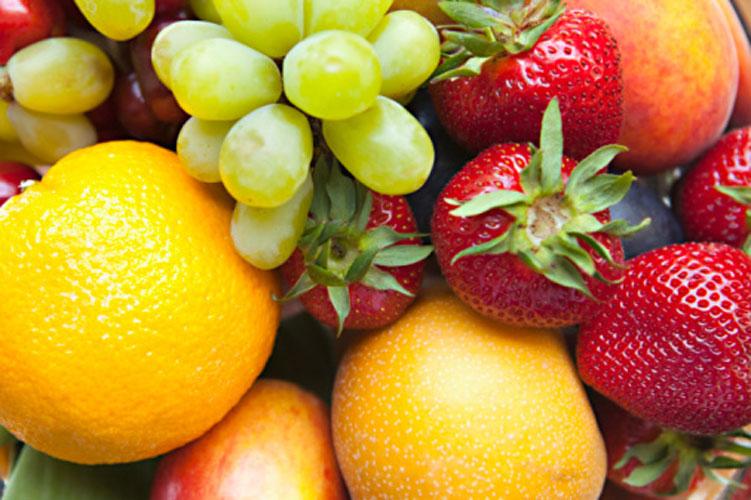 Coma frutas de sobremesa