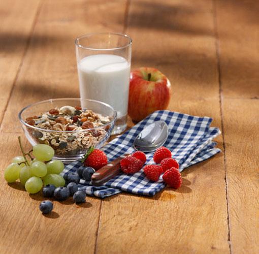 Laticínios desnatados devem ser incluídos na alimentação