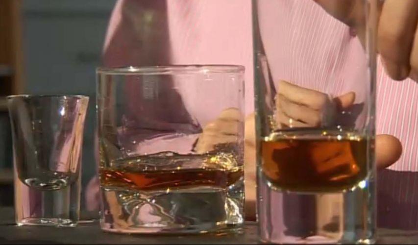 2 - Use recipientes menores para bebida