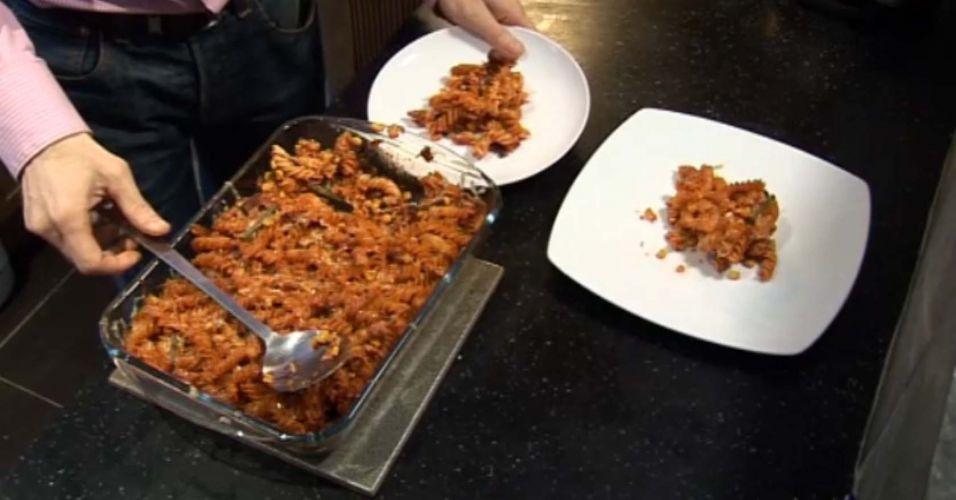 4 - Sirva refeições em pratos menores