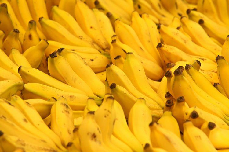 Só banana, nem pensar
