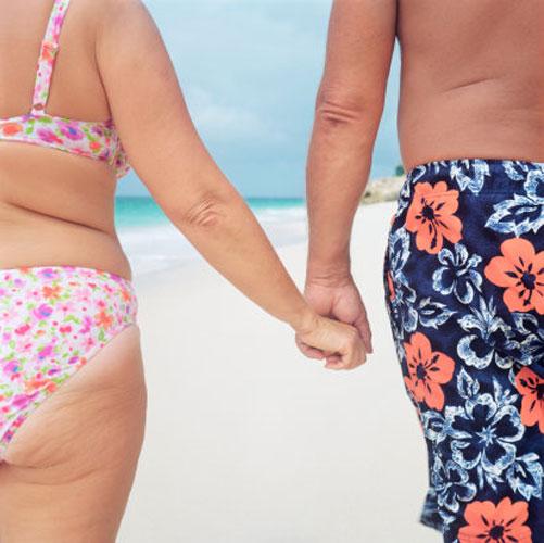 Mulheres com parceiros ganham peso
