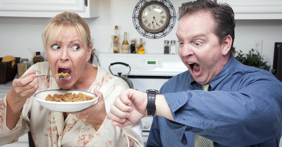 Pessoas em dieta comem mais quando estressadas