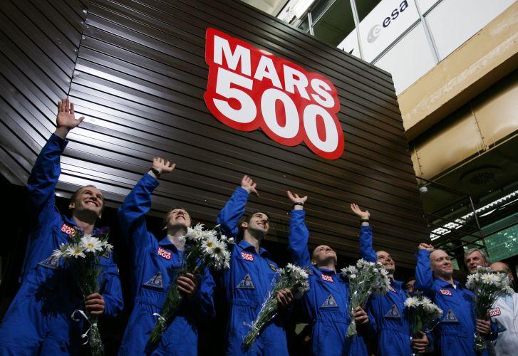 Simulação de voo a Marte
